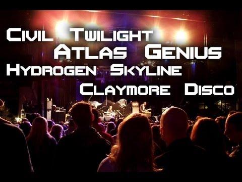 ReGrow Colorado: Civil Twilight, Atlas Genius, Hydrogen Skyline and Claymore Disco