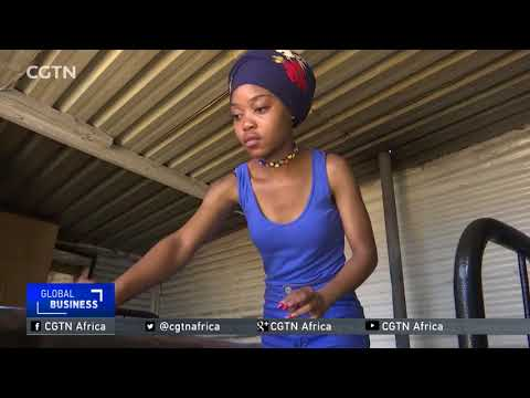 Plastic Fashion: S. African entrepreneur recycling trash to trendy items