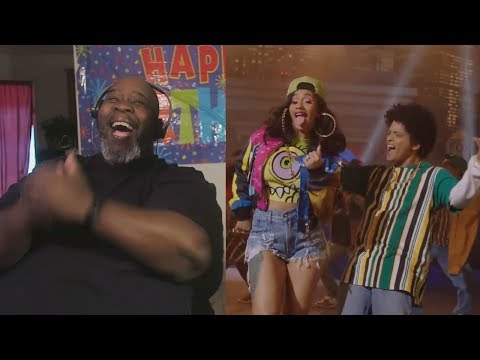 Dad Reacts to Bruno Mars  Finesse Remix  Feat Cardi B