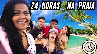 24 HORAS NA PRAIA!! (DESAFIO)