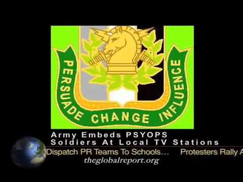 Army embeds PSYOPS soldiers at local TV stations (Everywhere)