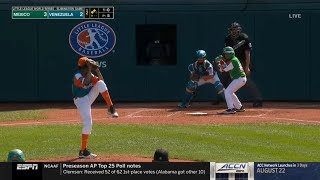 LLWS 2019 Elimination Game | Mexico vs ...