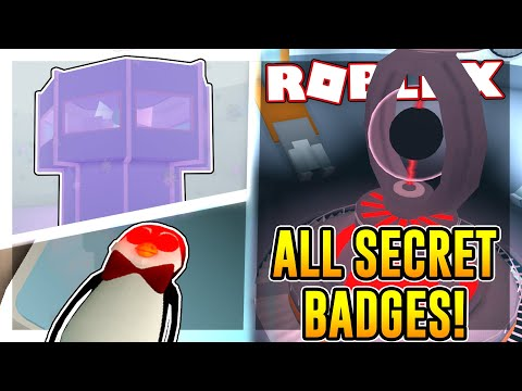 How to get all of the SECRET BADGES in INNOVATION ARCTIC BASE | Roblox