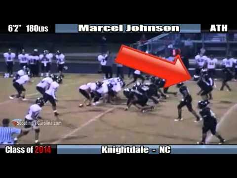 2014 Marcel Johnson - Knightdale ATH Junior highli...