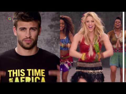 Cuando Piqué nació, Shakira ya cantaba en televisión
