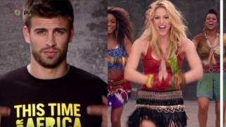Cuando Piqué nació, Shakira ya cantaba en televisión thumbnail
