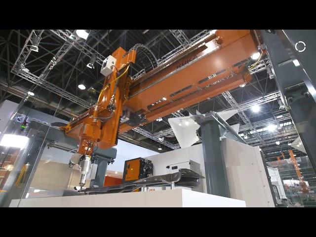 KUKA Laser Cutting Gantry programmed with Robotmaster
