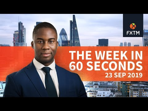 ECB Draghi, Fed and Gold: The week in 60 seconds | FXTM | 23/09/2019