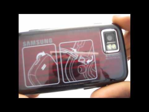 Unboxing Samsung S8000 jet