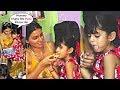 Harbhajan singh and geeta basra daughter hinaya eating pizza  cute moments