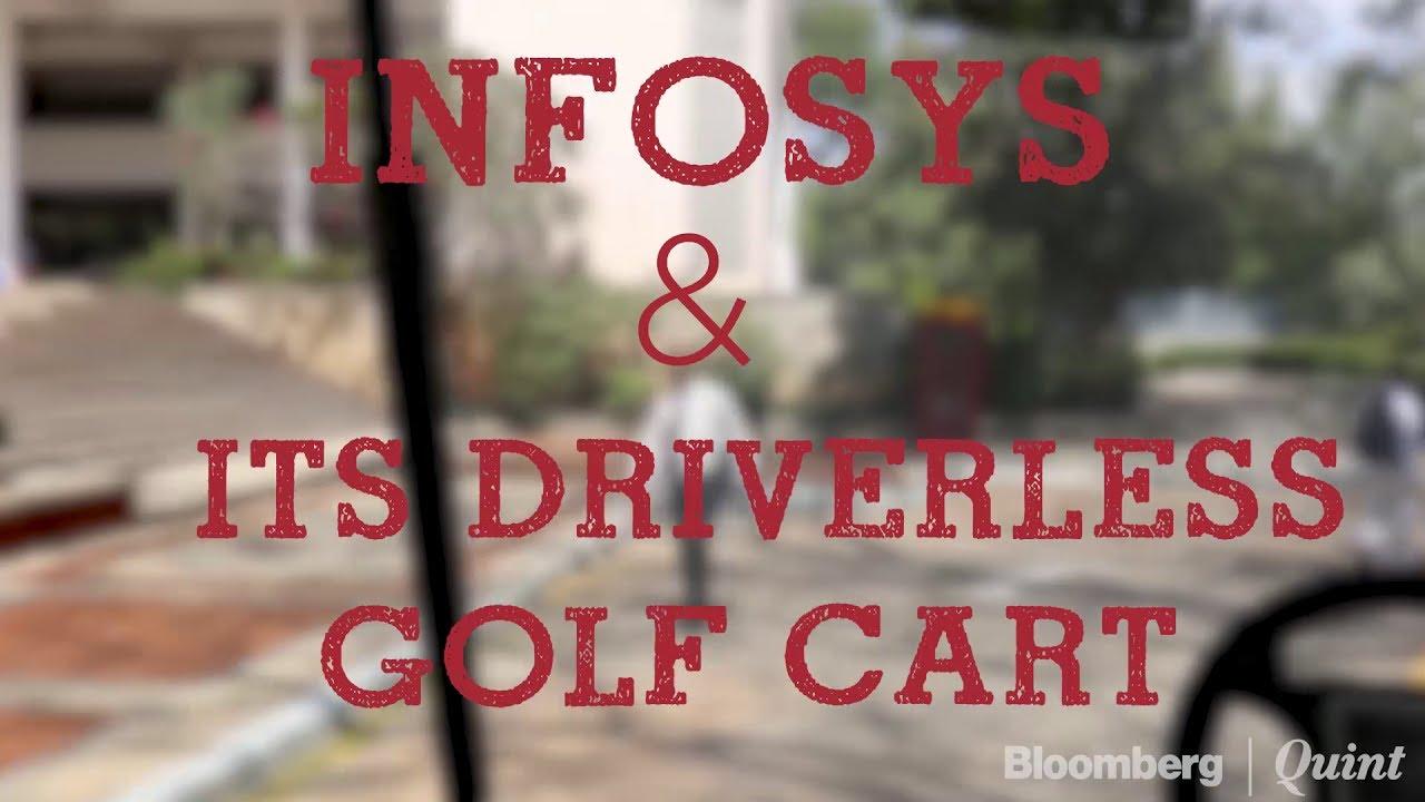 When vishal sikka rode a driverless golf cart