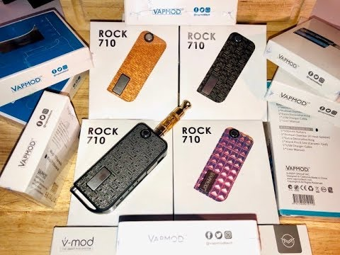 Rock 710 by VAPMOD- 650mAh Battery/Device (Review & Unboxing)