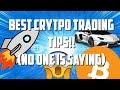 Top 3 Best Bitcoin & Crypto Day Trading Tips