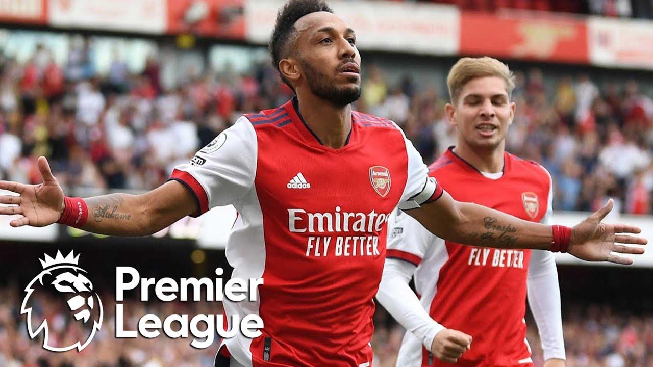 Download Pierre-Emerick Aubameyang scrambles Arsenal in front of Norwich City | Premier League | NBC Sports
