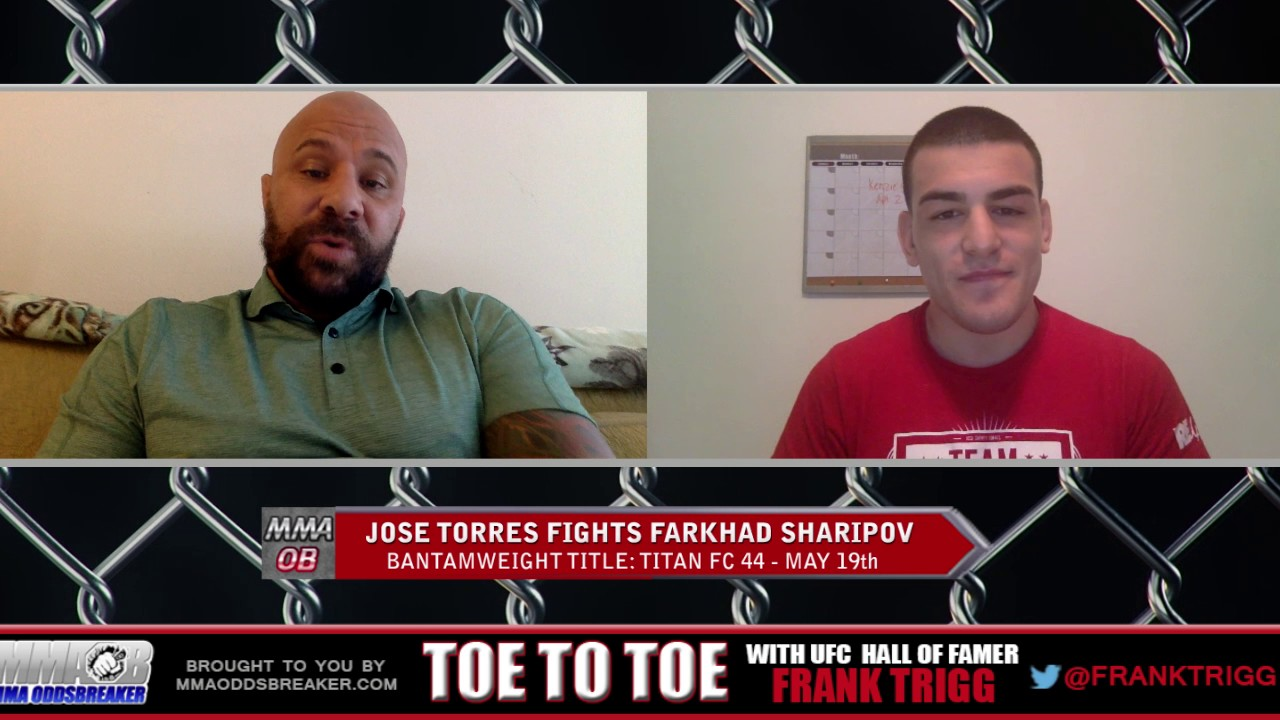 Frank Trigg Interviews Titan FC 44's Jose Shorty Torres