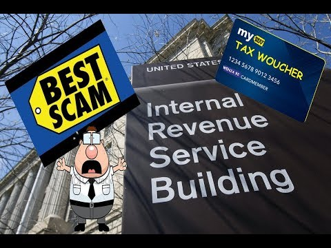 FAKE IRS WANTS ONLY BEST BUY CARDS