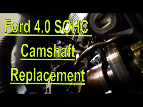 2001 Ford Explorer 40L SOHC Camshaft Replacement - YouTube