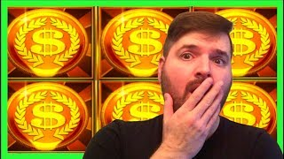 😳😳 EVERYONE WAS LOOKING AT ME FUNNY 😳😳 HIGH LIMIT Chip City Slot Machine BONUSES W/ SDGuy1234