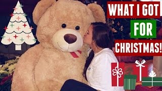 What I Got For CHRISTMAS! 2015 | Casey Holmes