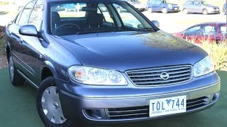 B5263 - 2005 Nissan Pulsar ST N16 Auto MY04 Review