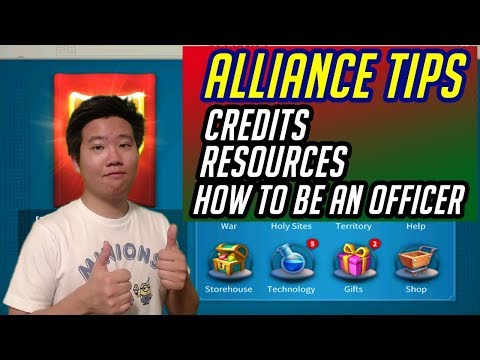 Alliance Tips and Guides. Hack Credits PLUS, How to be an Officer R4 | Rise of Kingdoms