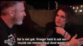 Robert Smith Interview - Pinkpop 2012