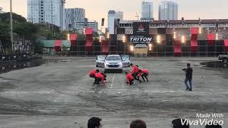 Parkour - Mitsubishi Triton