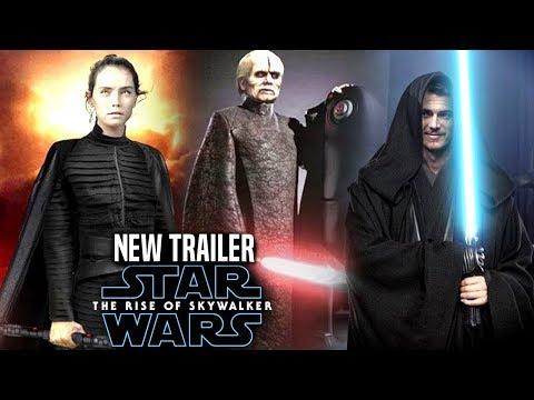 The Rise Of Skywalker New Trailer HUGE News Revealed! (Star Wars Episode 9 Trailer 4)