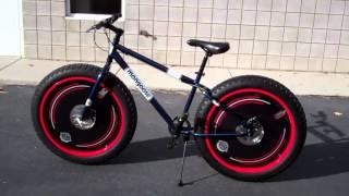 Mongoose Dolomite Men's 7-speed All-Terrain Fat Tire Mountain Bike