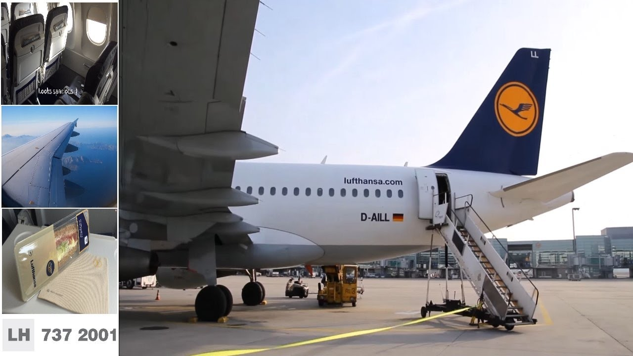 Frankfurt Palma De Mallorca Lufthansa A319 Tripreport Youtube