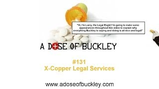 X-Copper Legal Services - A Dose of Buckley