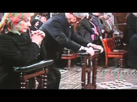 "Sebastian Piñera ""Pasando Piola"" misa septiembre 2011"