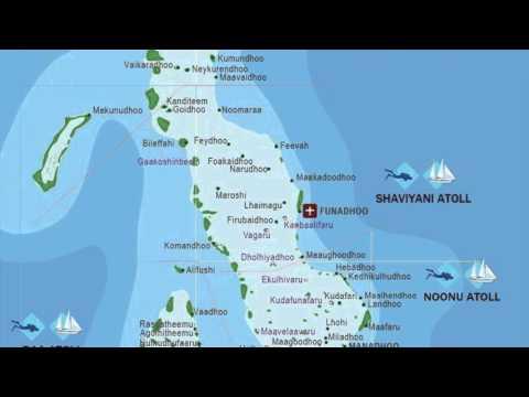 maldive islands map YouTube