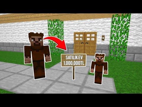 FAKİR EVİNİ 1.000.000 TL' ye SATIYOR! 😱 - Minecraft