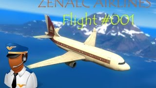 ZENALC AIRLINES SERIES - Just Cause 2 Flight (INTL AIRPORT to MILITARY AIRPORT)