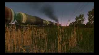 Держись машинист! (2ТЭ10м-2173 в Trainz 2012)(Коротенький ролик с участием тепловоза 2ТЭ10м в игре Trainz (2012) Оценивайте и комментируйте! Автор видео -..., 2012-03-16T01:07:39.000Z)