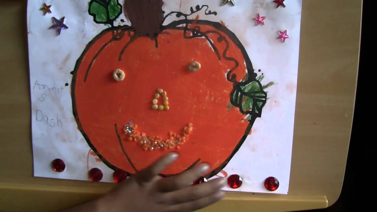 Kindergarten How To Decorate A Pumpkin For Harvest