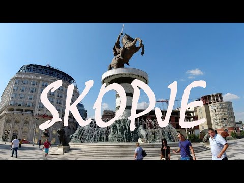 A TOUR OF SKOPJE | The Capital Of North Macedonia
