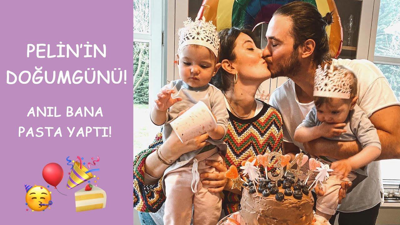 PELİN'İN DOĞUMGÜNÜ l ANIL BANA PASTA YAPTI  l Pelin&Anıl l