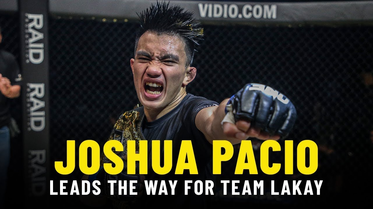 Joshua Pacio Leads The Way For Team Lakay   ONE Feature