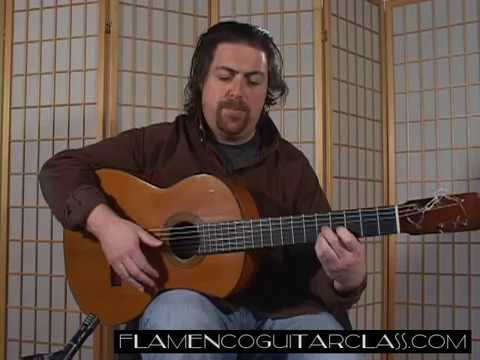 Flamenco Guitar Class Farruca No.1