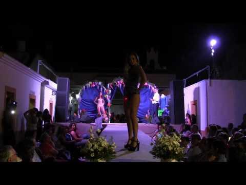 Desfile en traje de baño de las candidatas de Sevilla a Miss Grand Doñana 2016