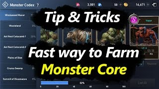 Lineage 2 Revolution Tips & Tricks Fast way to Farm Monster Core