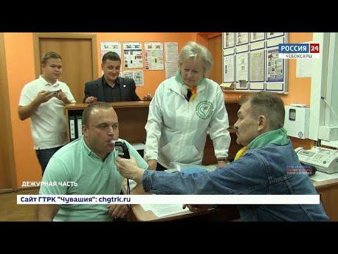 44 чувашских водителя не прошли проверку на трезвость во время рейда ГИБДД