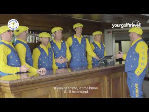 Paul Lawrie Ryder Cup song - The Guardians of The Ryder Cup at The Belfry