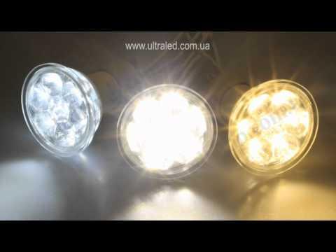 Светодиодные лампы CIVILIGHT GU10-2W рефлекторного типа