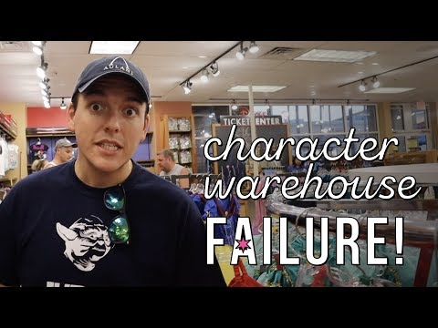 What A Bust! | Character Warehouse At Both Orlando Premium Outlets Failed Us