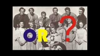 """Satte Pe Satta"" (1982) OR ""Seven Brides for Seven Brothers"" (1954)"