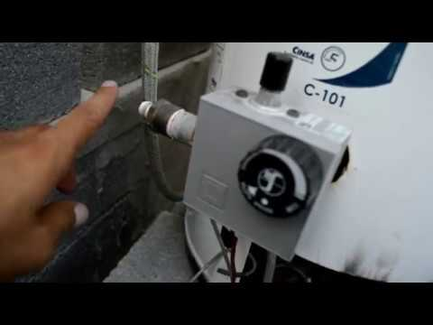Boiler gas lp a gas natural cambio de espreas  YouTube