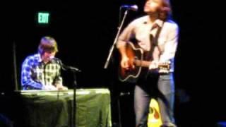 "Jay Farrar & Ben Gibbard ""Couches in Alleys"" 10/23/09 @ El Rey Theatre"